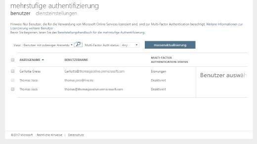 Multi-Faktor-Authentifizierung kann in Microsoft Azure relativ schnell und einfach eingerichtet werden.