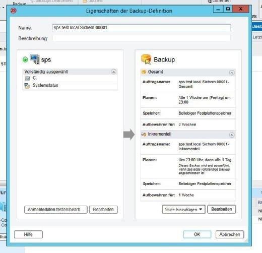 Veritas Backup Exec 16 unterstützt die DD Boost-Funktionalität der DD VE mit dem Ziel einer schnelleren und bandbreitensparenden Sicherung.