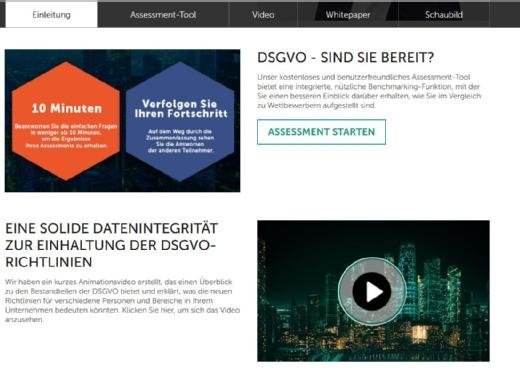 Bei Kaspersky Lab kann man mithilfe eines Assessment-Tools den eigenen Status in Sachen Datenschutz-Grundverordnung untersuchen.