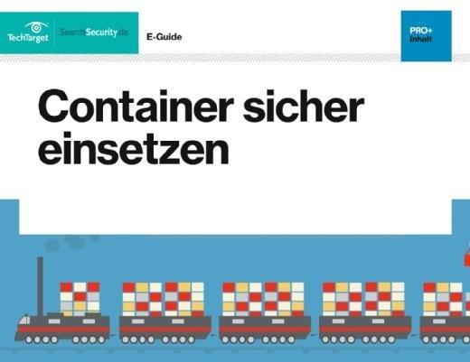Kostenloser E-Guide: Container sicher einsetzen