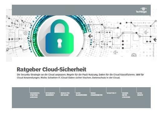 Kostenloses E-Handbook: Ratgeber Cloud-Sicherheit