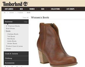 Timberland repense son expérience client en ligne