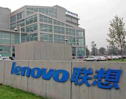 Lenovo sales increase amid PC market crash