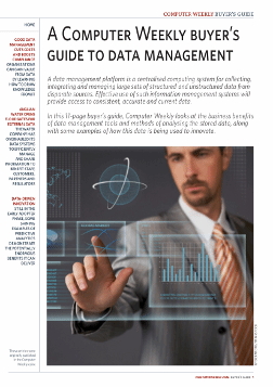 Buyer's guide to data management