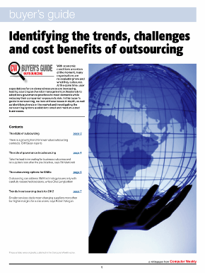 buyer's guide to outsourcing