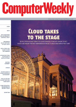 Cloud takes to the stage at the Royal Opera House