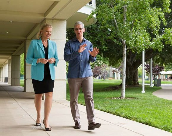 IBM partners with Apple to deliver enterprise services for iOS