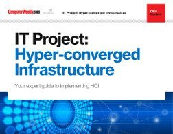 It Project Hyper Converged Infrastructure