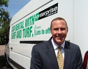 Jeff King, Enterprise Rent-a-car