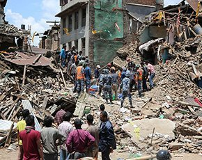 Vodafone sends network in a backpack to Nepal earthquake zone
