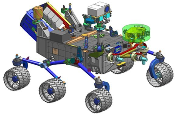 what was the design for the mars rover - photo #9