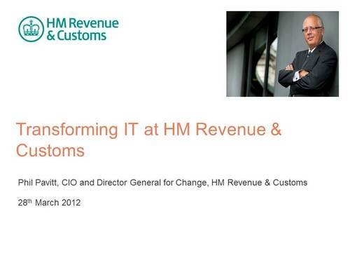 What The Papers Say Transforming It At Hm Revenue