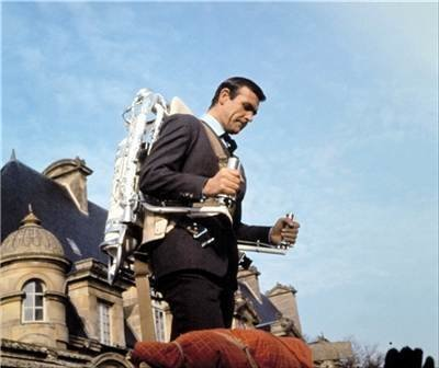 Jet pack - Thunderball (1965) Sean Connery