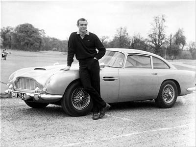 The Top Ten James Bond Cars