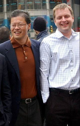 The beginning: Jerry Yang and David Filo