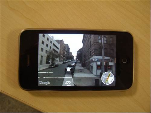 iPhone 2.2 update – Street view mapping