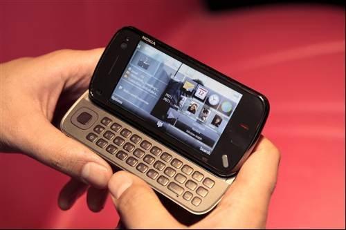 Nokia N97 geo-location phone