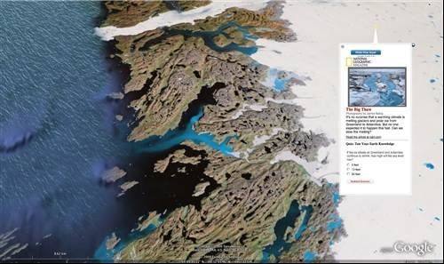 Google Earth: Arctic