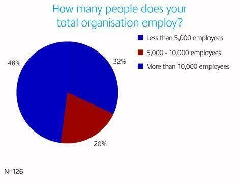 How many people does your total organisation employ?