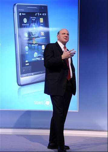 Steve Ballmer introduces Windows Mobile Phone With Marketplace and My Phone Services
