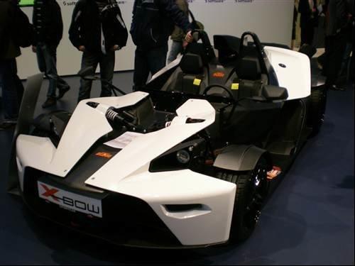 CeBIT 2009: KTM X-Bow
