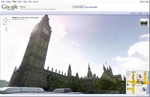 Google Street View - Big Ben