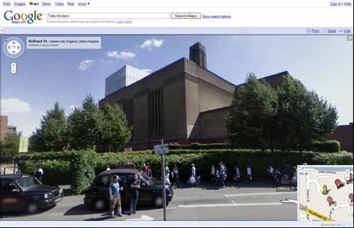 Google Street View - Tate Modern
