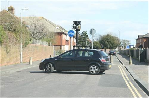 Google Street View: The car
