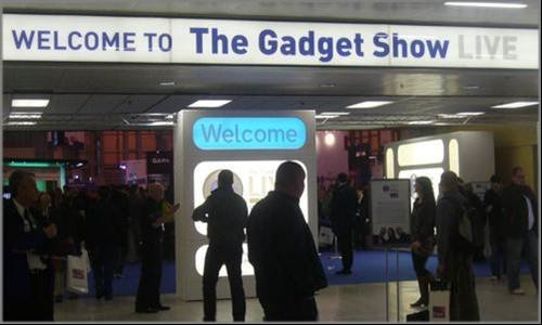 Gadget Show Entrance - The Gadget Show Live 2009