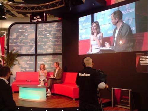McAfee GMTV style presentation - Infosec 2009