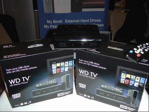Western Digital HD media player - Digital Summer 2009