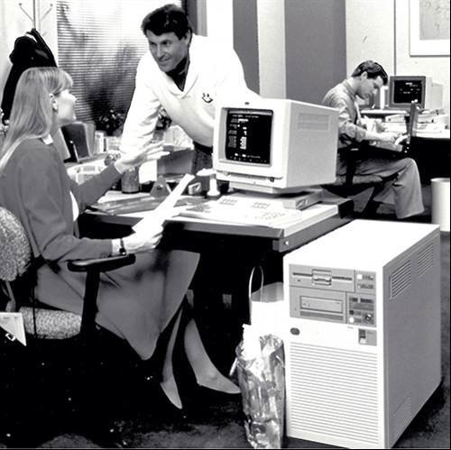 IBM AS/400 System Model 10 - computer fashions of the 1980s