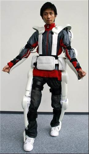 Cyberdyne HAL robotic exoskeleton to help paralyzed