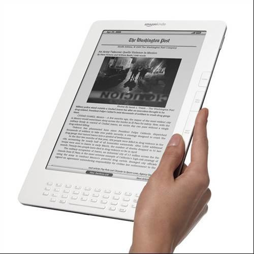 Amazon Kindle DX Top Ten eReaders reviewed