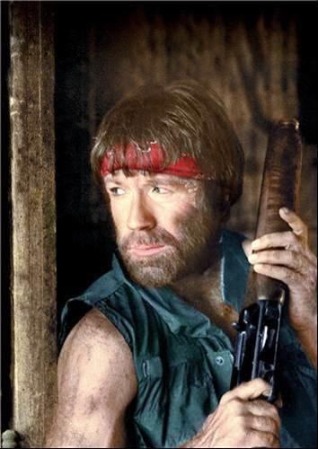 Chuck Norris on Twitter