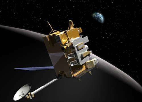 Neutron detector finds signs of hydrogen at lunar poles