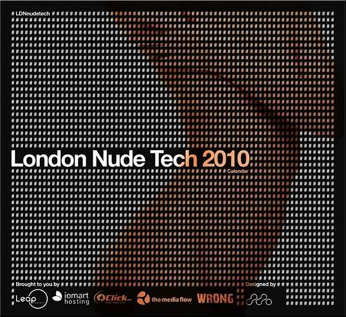 The London Nude Tech 2010 calendar