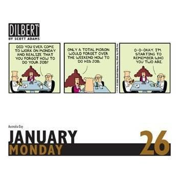 Daily dose of Dilbert - 2010 calendar