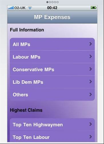 Check out how much MPs are spending