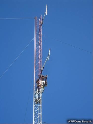 PF Base antenna setup