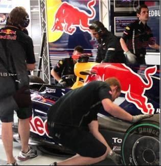 Vettel's wing man - The team behind Red Bull Racing