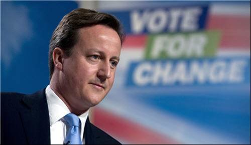 David Cameron complacency claims - 2010 Election in pictures