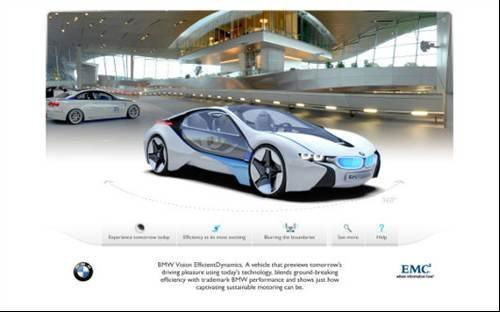 Design your own concept BMW with Internet Explorer 9