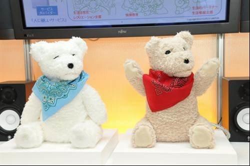 Social robot teddy bear