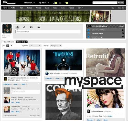 MySpace revamps website to entertain you