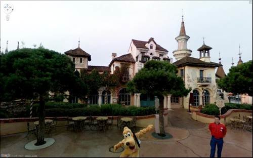 Disney - The funniest pictures on Google Street View