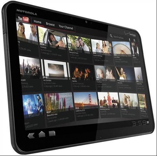 Motorola Xoom - Tablets set to kill the iPad CES 2011