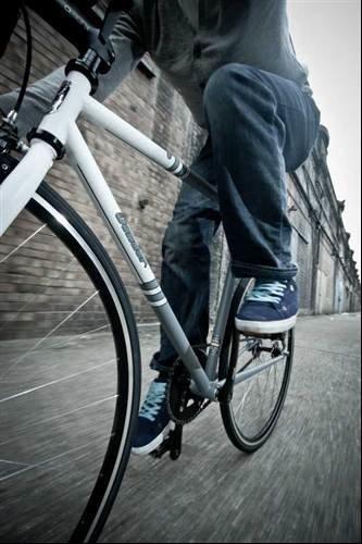 High end bicycle gets custom website