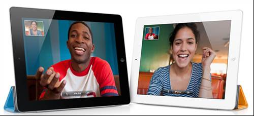 FaceTime - Apple iPad 2