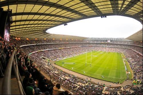 Twickenham... home of rugby